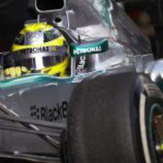 Más rodaje con el Mercedes W04