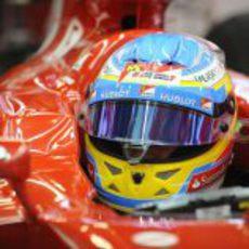 Fernando Alonso y Ferrari en pretemporada