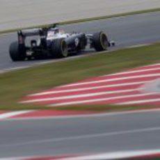 A toda mecha por el Circuit con el FW35
