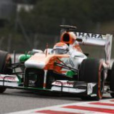 Adrian Sutil vuelve a pilotar para Force India
