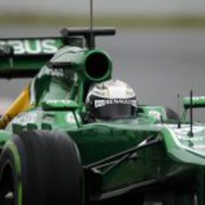 El CT03 rodando en el Circuit