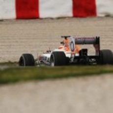 Jules Bianchi rodando para Force India