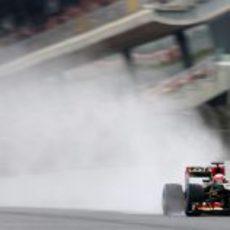 Mucha lluvia en el Circuit