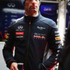 Look invernal para Mark Webber