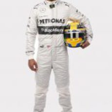 Lewis Hamilton, piloto oficial de Mercedes