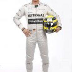 Nico Rosberg, piloto oficial de Mercedes