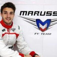 Jules Bianchi confirmado como piloto de Marussia para 2013