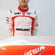Jules Bianchi, nuevo piloto de Marussia para la temporada 2013