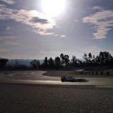 El sol acompañó durante el tercer día de entrenamientos