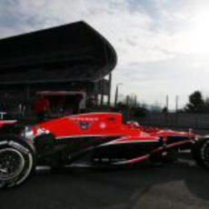 Jules Bianchi se estrena como piloto de Marussia en Montmeló