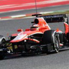 Jules Bianchi pilota su Marussia tras ser confirmado como titular