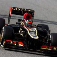 Kimi Räikkönen pilotó para Lotus en el último día de test