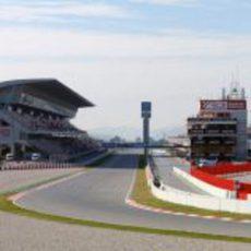 Recta de meta del Circuit de Catalunya