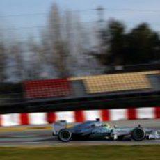 Nico Rosberg volvió a marcar el mejor tiempo en el último día de test