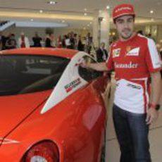 Fernando Alonso en Australia