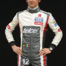 Esteban Gutiérrez, de estreno con Sauber