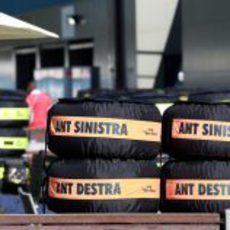 Neumáticos en Albert Park