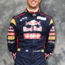 Daniel Ricciardo, piloto de Toro Rosso
