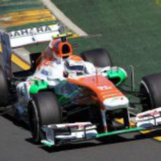 Adrian Sutil vuelve a pilotar para Force India