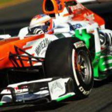 Paul di Resta prueba el neumático medio en Melbourne