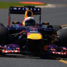 Sebastian Vettel estuvo al frente de los Libres 1 y 2 del GP de Australia 2013