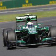 Giedo van der Garde debuta en su primer fin de semana de Gran Premio como piloto titular