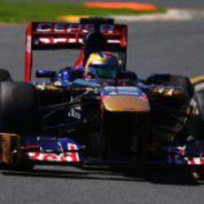 Jean-Eric Vergne tuvo poco ritmo con el STR8 en Melbourne