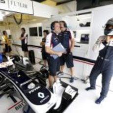 Valtteri Bottas está listo para subir a su FW35
