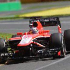 Jules Bianchi se estrena en Melbourne con Marussia