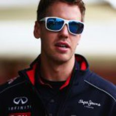 Sebastian Vettel preparado para el sol
