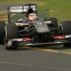 Nico Hülkenberg disputa los Libres 3 del GP de Australia 2013