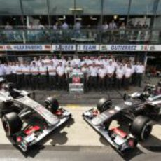 20 años de Sauber en Fórmula 1