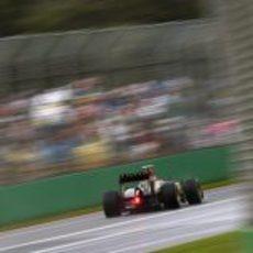 Kimi Räikkönen buscando brillar a una vuelta