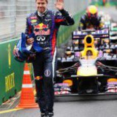 Sebastian Vettel logra la primera pole de 2013 en Australia