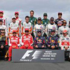 Plantilla de pilotos de 2013
