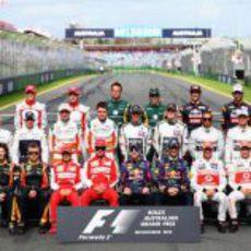 Foto oficial de la temporada 2013 de Fórmula 1