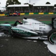 Problemas para Nico Rosberg
