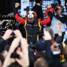 Kimi Räikkönen gana en Australia