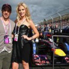 Alessandro Del Piero y la modelo Chelsea Scanlan