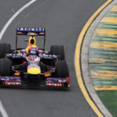 Mark Webber tuvo un ritmo irregular en Australia
