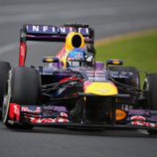 Sebastian Vettel terminó tercero el GP de Australia 2013