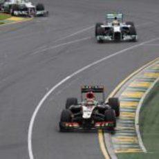 Kimi Räikkönen exprimió el ritmo del E21 en Melbourne