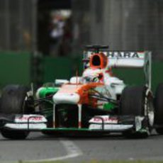 Paul di Resta acabó justo detrás de su compañero en Melbourne