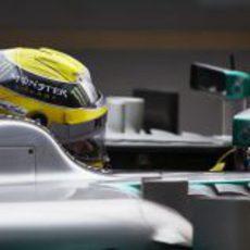 Nico Rosberg en Australia