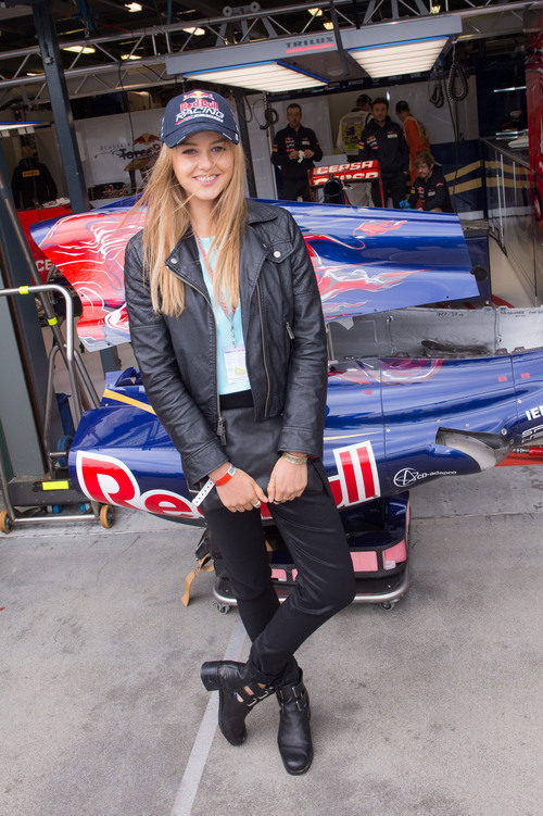 Isabelle Cornish en el Gran Premio de Australia