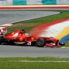 Fernando Alonso fue cuarto en los Libres 1 y 2 de Malasia