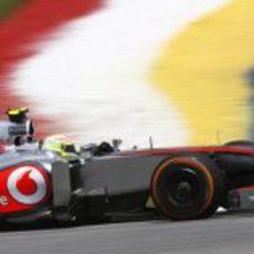 Sergio Pérez afronta el segundo GP con McLaren