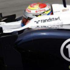 Pastor Maldonado se muestra decepcionado con el FW35