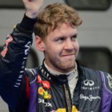 Sebastian Vettel logra la 38ª pole de su carrera