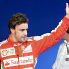 Fernando Alonso terminó tercero la clasificación en Sepang